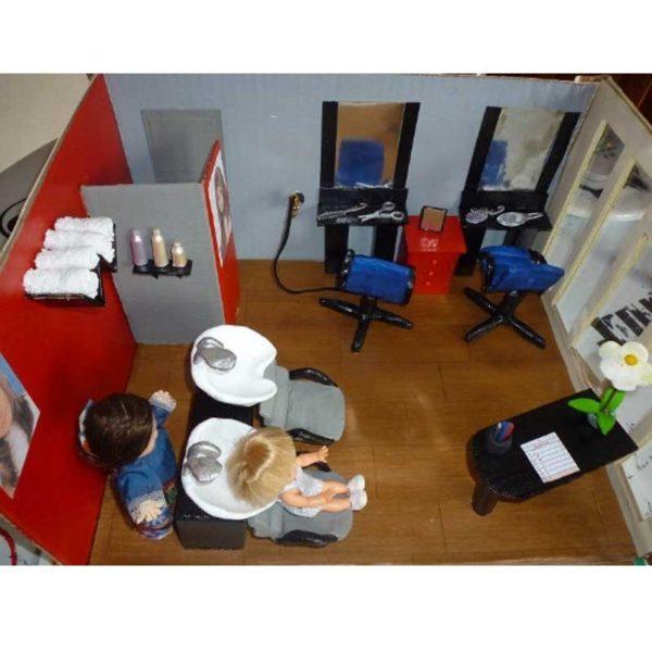 Urne salon de coiffure