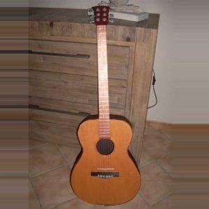 Urne guitare | Urne anniversaire 40 ans