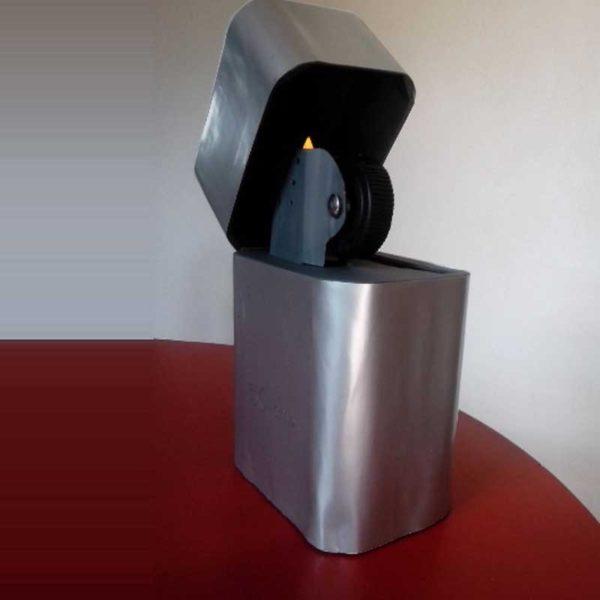 Urne en carton en forme de briquet pour anniversaire ou mariage