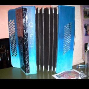 Urne accordéon - Urne anniversaire 20 ans