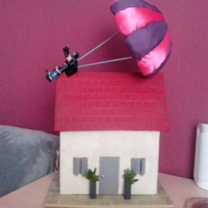 Urne parachute | Urne maison