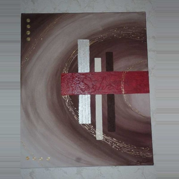 Tableau moderne abstrait