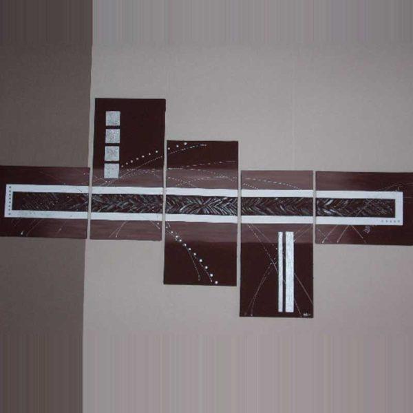 Tableau moderne abstrait marron