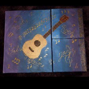 tableau guitare
